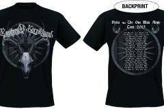 ensiklaani - tourshirt